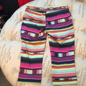 Fila Pants - Fila multi-color crop pants size XS